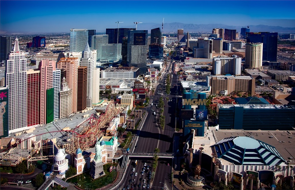 Over 40 million people visit Vegas every year, which is incentive for many companies to put down roots here.