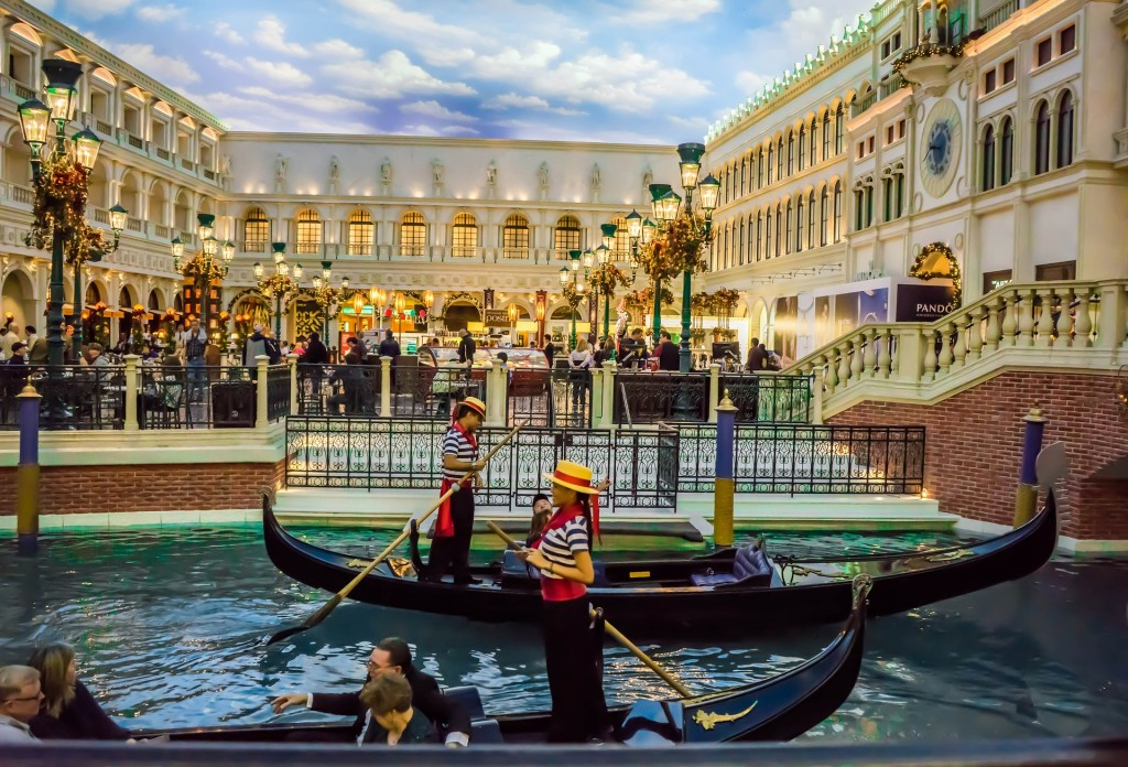 Move your company to Vegas, and you could book a gondola ride for your next business meeting.